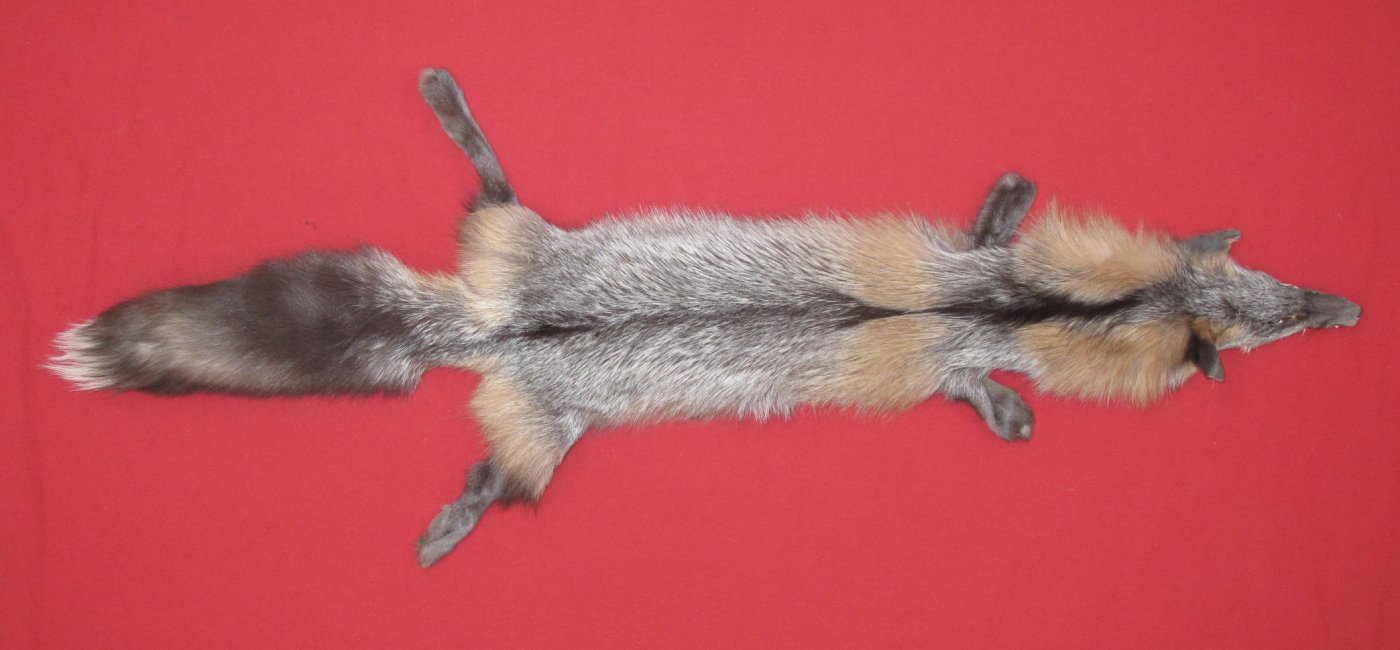Tanned Furs : PEARL CROSS FOX (6810-0038) : hideandfur.com