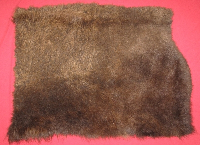 Picture of this lot Tanned Furs - Buffalo, Misc. Pieces