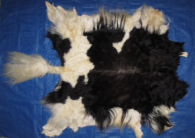 Picture of this lot Tanned Yak Hides, Furs, Pelts, Skins